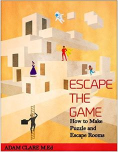 Want to design your own escape games? Here are tips on how to make your room escape game more fun and engaging. Including trends in real room escape games. Room Escape Games, Escape Room Design, Escape Room Diy, Escape Room Puzzles, Game Room Design, Escape Box, Breakout Edu, Breakout Boxes, Breakout Game