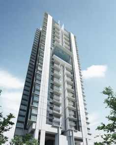 New Serviced Residence for sale at Zeta Residence @ One South, Seri Kembangan by Prop Park Sdn Bhd. Condominium Architecture, Futuristic Architecture, Beautiful Architecture, Building Facade, Building Exterior, Building Design, Future Buildings, Modern Buildings, Tower Apartment