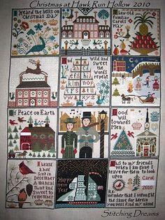 Stitching Dreams: Christmas at Hawk Run Hollow