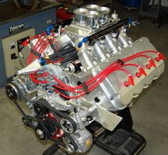 SONNY'S 727 cu.in 1325 HP HEMISPHERICAL HEADED PUMP GAS ENGINE - Sonny's Racing Engines & Components