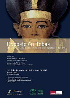 """Este viernes 2 de diciembre:  19:00 h. Conferencia de las Jornadas de Egiptología: """"Tebas, capital del Antiguo Egipto: los orígenes de la fascinación por el arte egipcio"""". Inmaculada Vivas Sainz. Profesora del Departamento de Historia del Arte de la UNED."""
