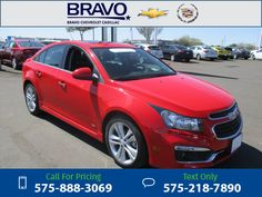 2015 Chevrolet Chevy Cruze LTZ Call for Price 24523 miles 575-888-3069 Transmission: Automatic  #Chevrolet #Cruze #used #cars #BravoChevroletCadillac #LasCruces #NM #tapcars