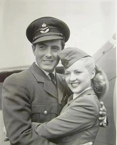 Tyrone Power and Betty Grable ~