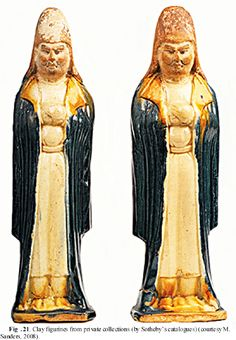 Early Turks: Male Costume in the Chinese Art, Second half of the 6th – first half of the 8th cc. ~ Clay figurines from private collections