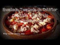 De Buena Mesa: Ensalada Templada de Coliflor con Atún y Cangrejo http://denuestracasa.blogspot.com.es/2015/03/ensalada-templada-de-coliflor-con-atun.html