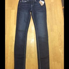 "NWTMudd Embellished Skinny Jeans. NWTMudd Embellished Skinny Jeans. Dark Wash. Low Rise Stretch. Inseam 30"". Will consider all offers. Mudd Jeans Skinny"