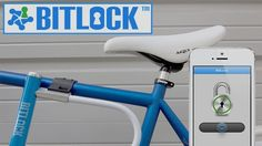 Bitlock - no key or app to unlock your bike. Uses proximity sensors built in, when your close it'll automatically  pop open. Pre-order available.