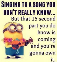 Cute Best october Funny Minion quotes (09:46:42 PM, Tuesday 13, October 2015 PDT... - 094642, 13, 2015, Cute, Funny, funny minion quotes, Minion, Minion Quote, october, PDT, PM, Quotes, Tuesday - Minion-Quotes.com