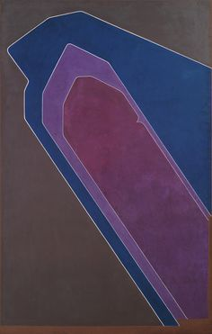 "'Umbra' (1972) by Pablo Palazuelo...........Rich color palette, and great combination of line and shape....""and texture"