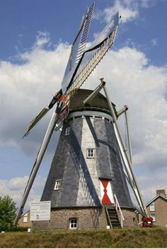 Flour mill, De Hoop, Horn, the Netherlands.