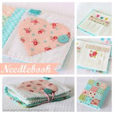 Patchwork Needlebook | A Spoonful of Sugar