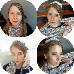 Makeup for Manon  Maquillage pour école  #ecole  #esthetique  #maquillage Manon, Ruffle Blouse, Women, Fashion, Taking Pictures, Makeup, Moda, Fashion Styles, Fashion Illustrations