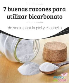 7 buenas razones para utilizar bicarbonato de sodio para la piel y el cabello Al mezclar el bicarbonato de sodio con aceite de coco, además de blanquear los codos o las rodillas, también conseguimos humectarlas y evitamos así el tacto rugoso