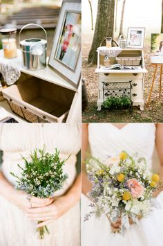 rustic outdoor wedding details - Jenna Henderson, Photographer