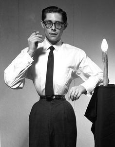 "Fakir Musafar as ""The Perfect Gentleman"", 1959 . This photo inspired Mr. Pearl to start wearing corsets! 