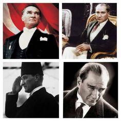 """""""Gazi Mustafa Kemal'im... ATAm... Ataturk'um... Huzur icinde uyu diyecekim ama...... Allah rahmetini bol eylesin... 77 yildir bu vatan sensiz... Aydinligin…"""""""