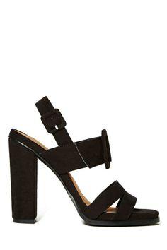 Shoe Cult Delphone Heel - Black