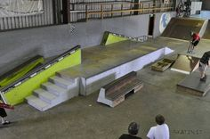 Great Wall Of China, Skate Park, Slammed, Industrial Style, Layout, Indoor, Cool Stuff, Architecture, Bmx