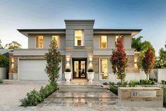 "I post Interior Design & Exterior Architecture. ""Never let your fear decide your future. Design Exterior, Interior And Exterior, Rustic Exterior, Modern Exterior, Interior Design, Dream Home Design, Modern House Design, Modern Style Homes, Modern Contemporary Homes"