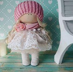 Interior doll Fabric doll Handmade doll Rag doll Love doll