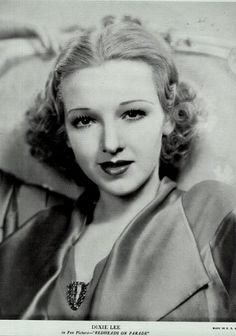 Dixie Lee; actress | Flickr - Photo Sharing!