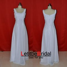 Hey, I found this really awesome Etsy listing at https://www.etsy.com/listing/201352506/2015-cheap-scoop-floor-length-pleated