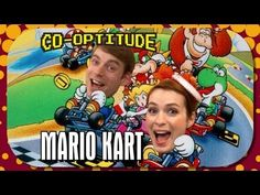 ▶ Felicia Day and Ryon Day Play Super Mario Kart: Co-Optitude Episode 14 - YouTube ..made my day!