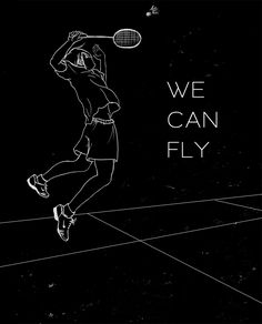 Badminton - we can fly Shuttle Badminton, Badminton Club, Badminton Logo, Summer Olympics Sports, Sports Day, Badminton Pictures, Olympic Gymnastics, Olympic Games, Sport Quotes