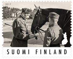 Suomi Finland 2017 MNH Stamp - Field Marshal Mannerheim Ann - Military in Europe > Finland Field Marshal, First Day Covers, Postage Stamps, Nostalgia, Military, Animals, Paper, Vintage, Finland