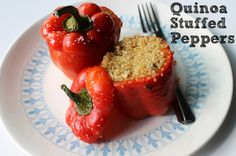 BEAUTY & THE BEARD: Quinoa Stuffed Peppers (Vegan!)
