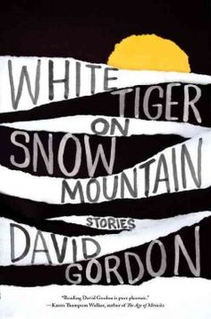 White tiger on Snow Mountain by David Gordon.  Click the cover image to check out or request the suspense and thrillers kindle.