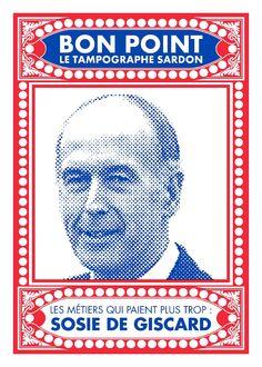 Le Tampographe Sardon - Bons points géants #screenprint #serigraphie