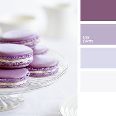 Delicate color palette of lilac shades is perfect for winter wedding decoration. Such a noble color as intense pastel lilac will highlight your white dress.