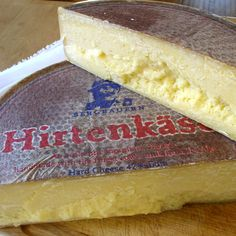 "Hirtenkäse, or ""herder's cheese"", is a distinctive cow's milk cheese made in the Allgäu area of Southern Germany.  Traditionally, cow herders bring their cows from the Alps into Allgäu each fall in mid-September. September 18 typically ""marks the official start of the Almabtrieb, or descent, a day celebrated with a festival ....""  Hirtenkäse is made from the milk from these cows  It is usually aged eight months"