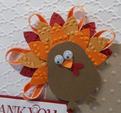 November 8, 2012 by Erin Gonzales: Blossom Petals Punch Turkey Feathers Owl Punch                                                                                                                                                                                 More