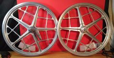 Old School BMX Products Mongoose Motomag II Wheels Bendix 76 Coaster Brake PAIR #MongooseBMXProducts