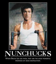 Bruce Lee Nunchucks by MexPirateRed.deviantart.com on @deviantART