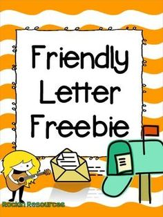 Friendly Letter Freebie