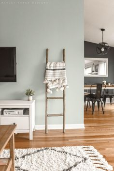 Dining Room Paint, Dining Room Colors, Living Room Paint Colors, Living Room Color Schemes, Basement Color Schemes, Kitchen Wall Colors, Playroom Color Scheme, Warm Kitchen Colors, Green Kitchen Walls
