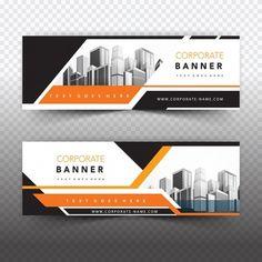 Banner vectors, photos and psd files Banner Design Inspiration, Web Banner Design, Web Design, Flyer Design, Web Banners, Banner Vector, Banner Template, Post Design, Logos Retro