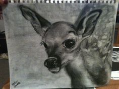 Drew this today for my grandma's birthday gift; it will be up at the cabin :)