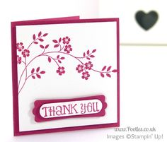 Hopeful Thoughts Thank You Card - To You! Well, today is July 10th, and as this blog post goes live, I'm very probably stood in a check in line at Manchest