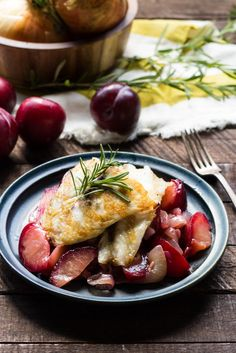 Red juicy plums mingle with sweet onions. Perfect for end of summer bbqs. This recipe has been adapted for Barramundi from Melissa Clark's Swordfish with Sweet Onions and Red Plums.