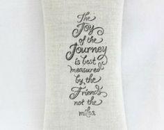 Joy of the Journey Lavender Sachet, Friend Going Away Gift, Long Distance Friendship