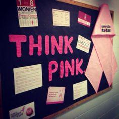 October Bulletin Board. Breast Cancer Awareness Bulletin Board. RA Bulletin.  Resident Approved