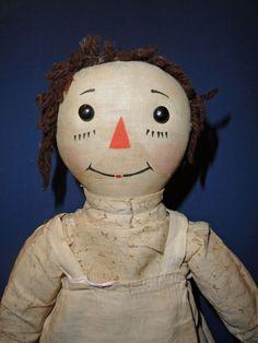 Volland Raggedy Ann Doll