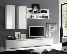parete attrezzata con scrivania - Cerca con Google | My House ...