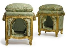 For pampered Ancien Regime pooches...