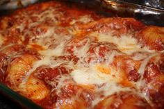 EVERYDAY SISTERS: Four Cheese Stuffed Shells