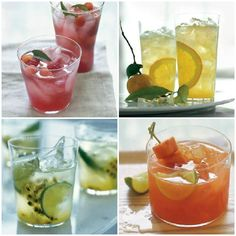 Williams-Sonoma Recipe Roundup: Spring Cocktails! 9 spring sips that are perfect for entertaining. Mix up a batch for your next brunch or dinner party. Cheers! Click image for recipes...